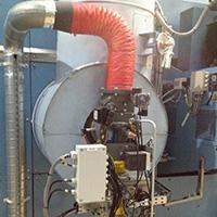 brûleur à gaz industriel maxon ovenpack